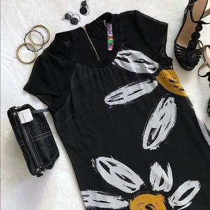 Desigual Daisy Dress Black Size US Large